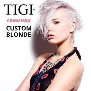 Custom Blonde TIGI