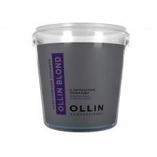 Ollin Blond Порошок осветляющий c ароматом лаванды